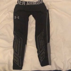 Boys Under Armour Compression Pants